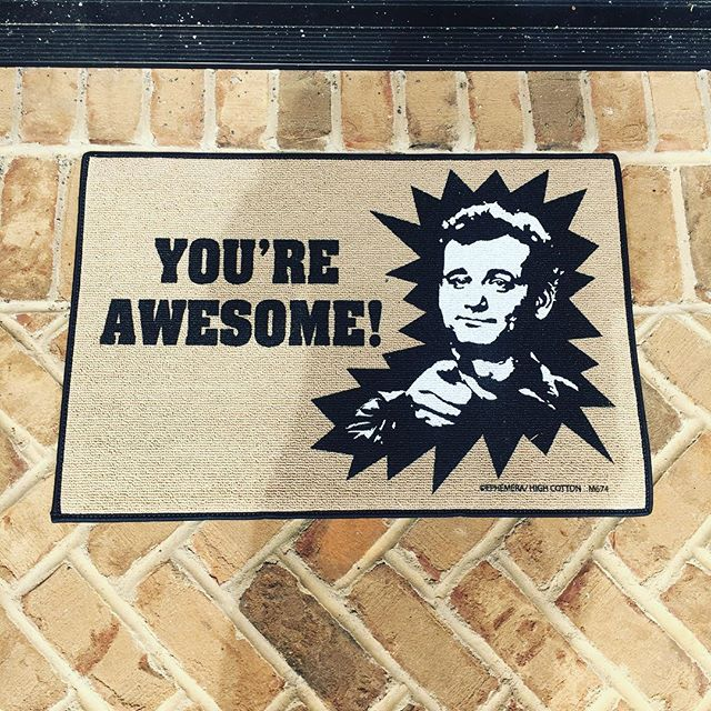 New doormat! #awesome #billmurray