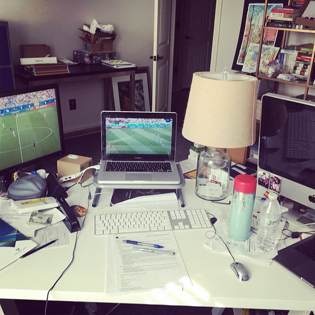 Tough day at the office #prayforme #worldcup #officelife #strategy
