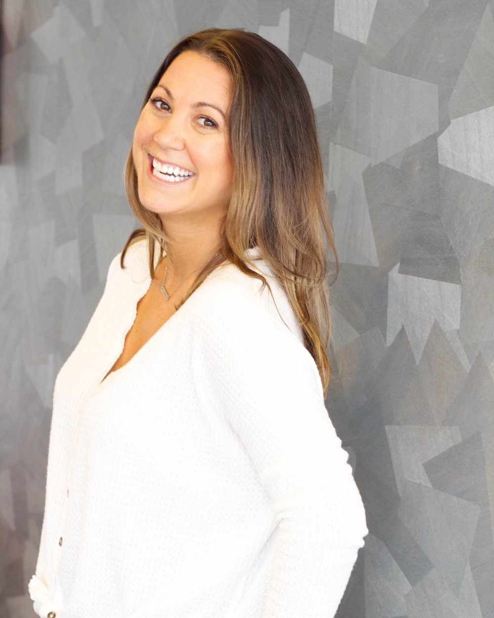 Christina   Vivacious. Resilient. Inspiring. All of these words describe client  @xtendbarreburlington , Christina. We are humbled to add Aglow to her natural Glow! Book your appointment for YOUR weekend glow!