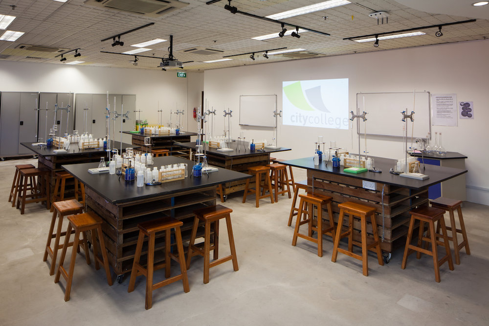 Learning Room 1 (Laboratory set-up)