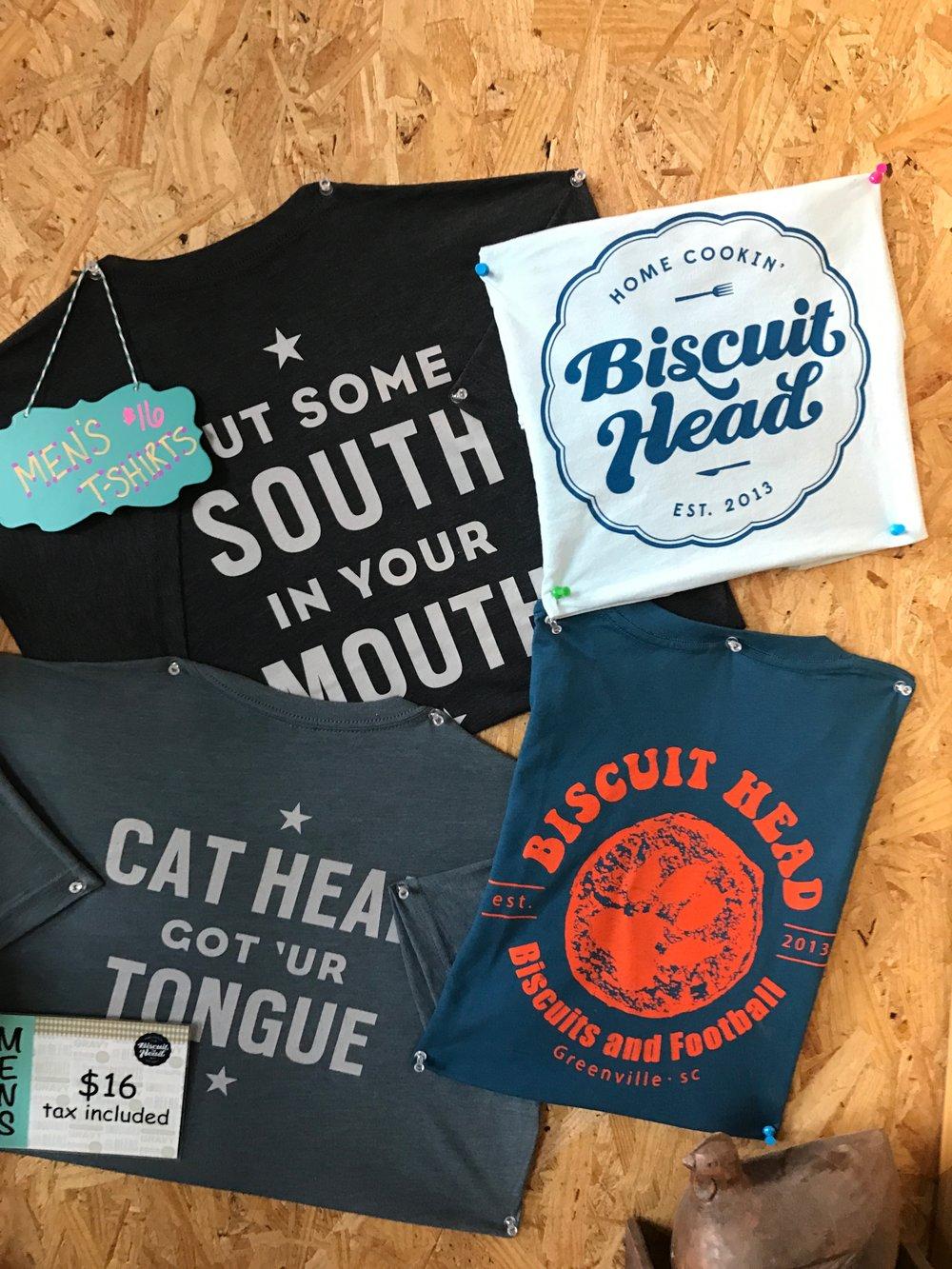 Biscuit Head Shirt in Store.JPG
