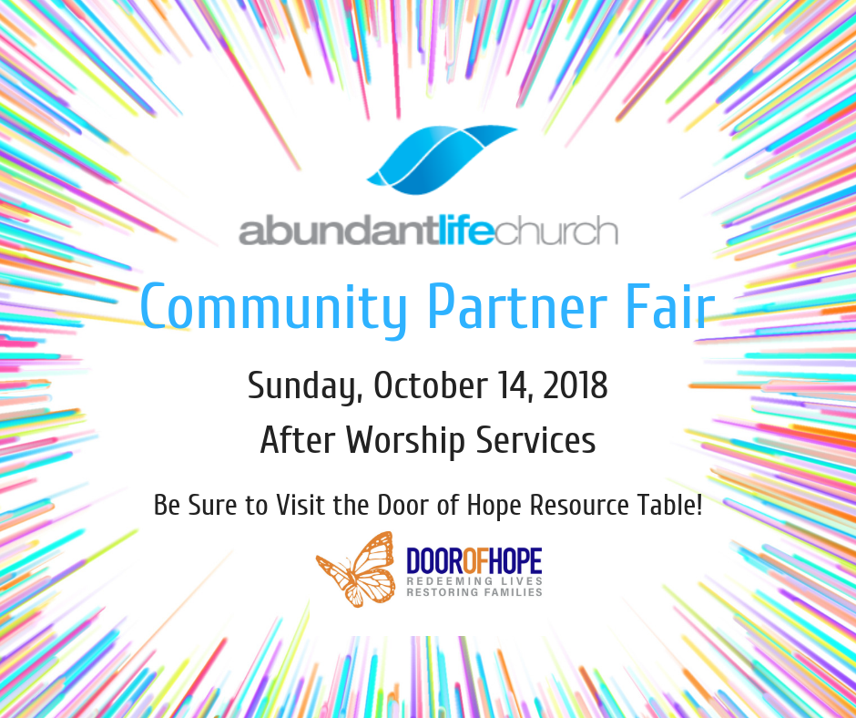 Abundant Life Community Partner Fair