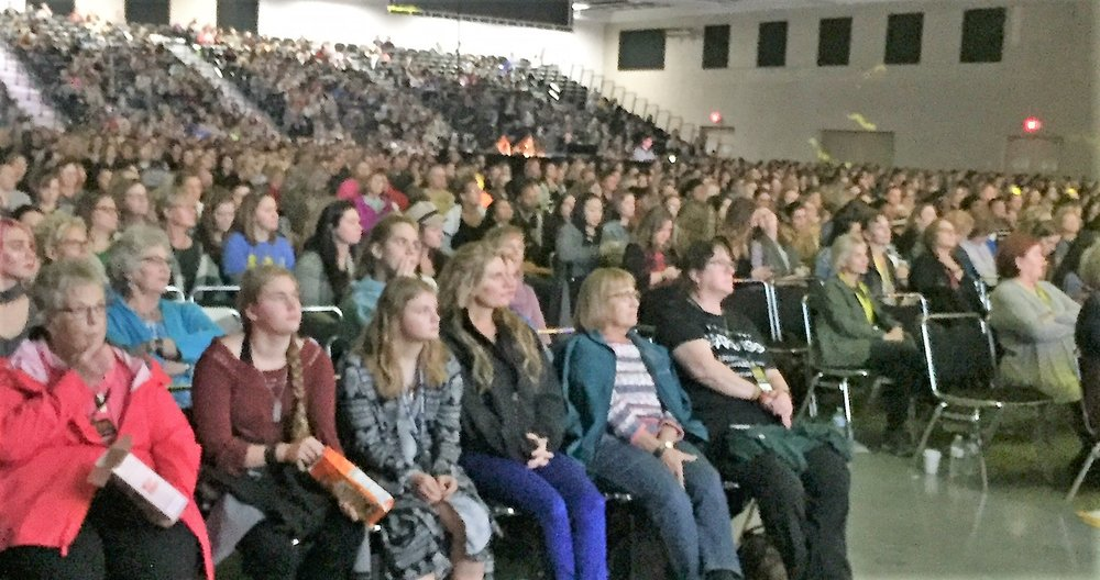 More than 3,000 women attended this Spirit-filled weekend.