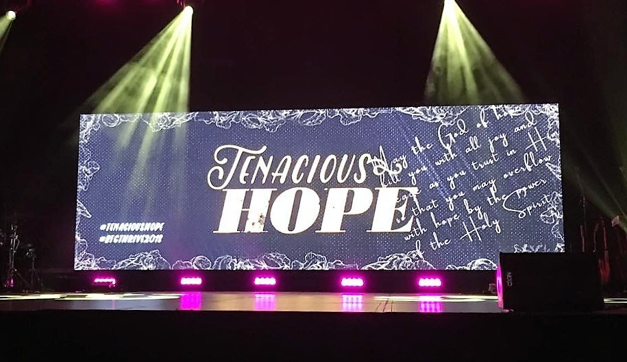 Tenacious Hope was the theme.