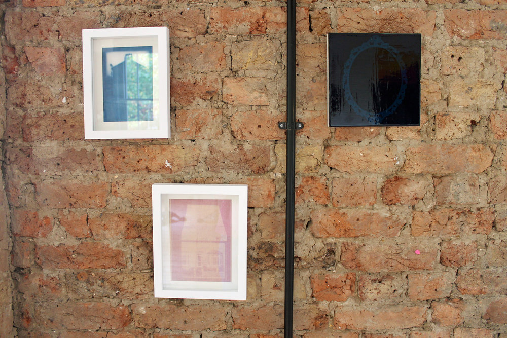 Homecoming, Window series & Blue Mirror by Molly Behagg