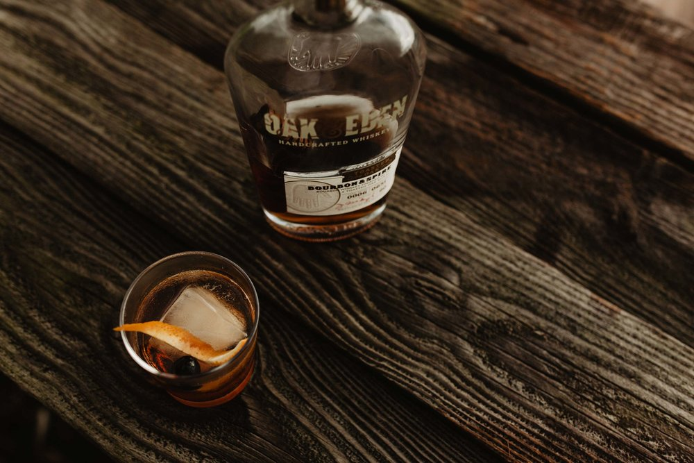 Smokey Old Fashioned Oak & Eden Bourbon Corey Woosley