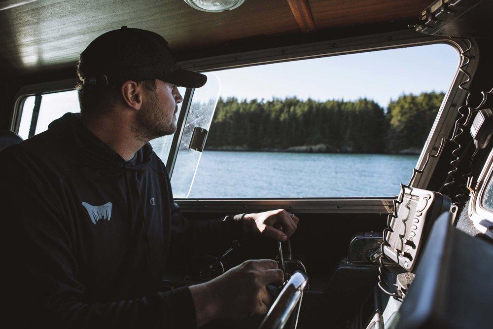 Fisherfolk Oak & Eden Alaska Nels Evangelista