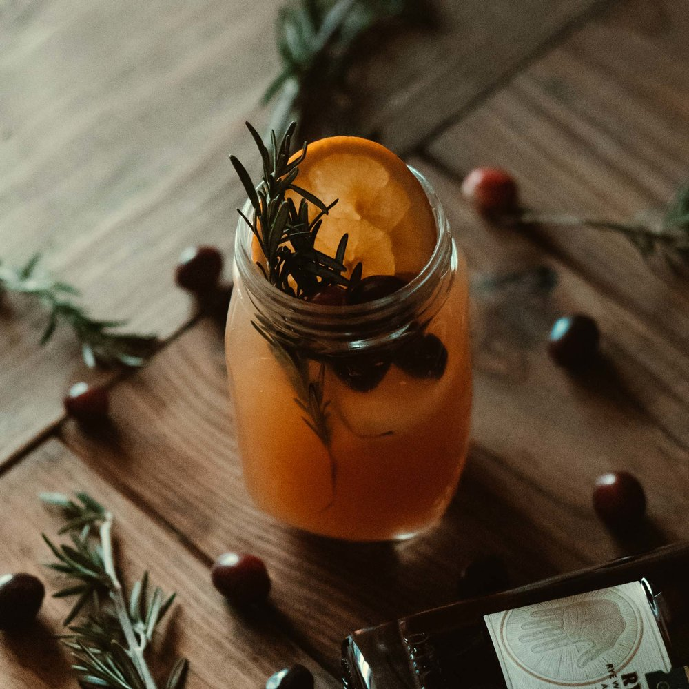 Holiday Rye Punch