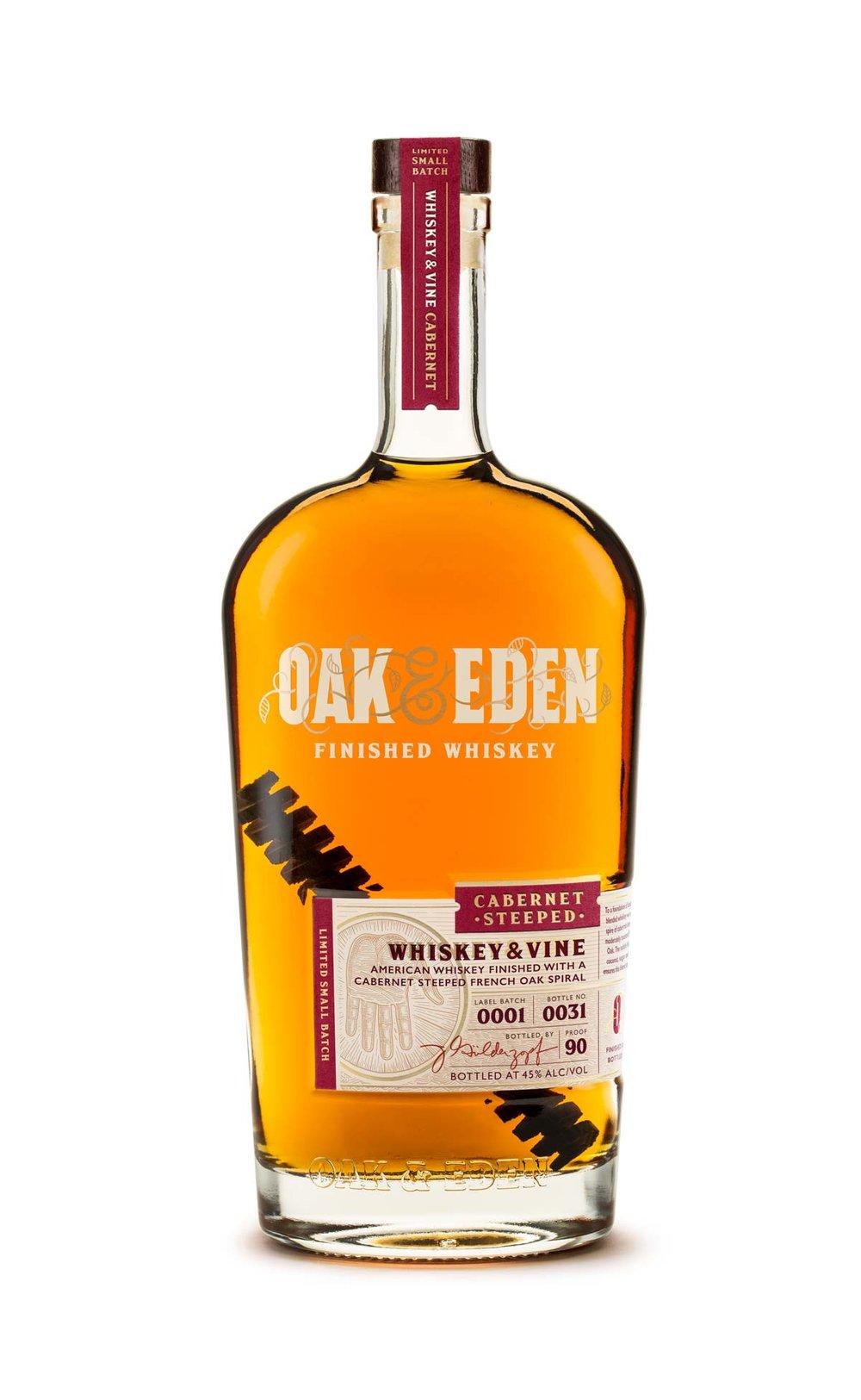 Oak & Eden Cabernet Steeped Bourbon