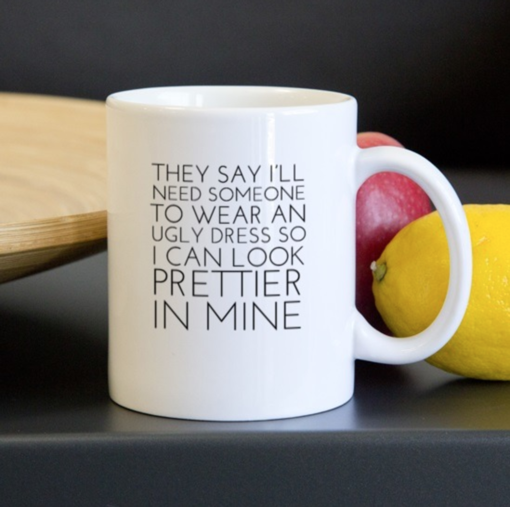 Don't Tear People Down:  - Beauty standards are BS, and so is this mug.
