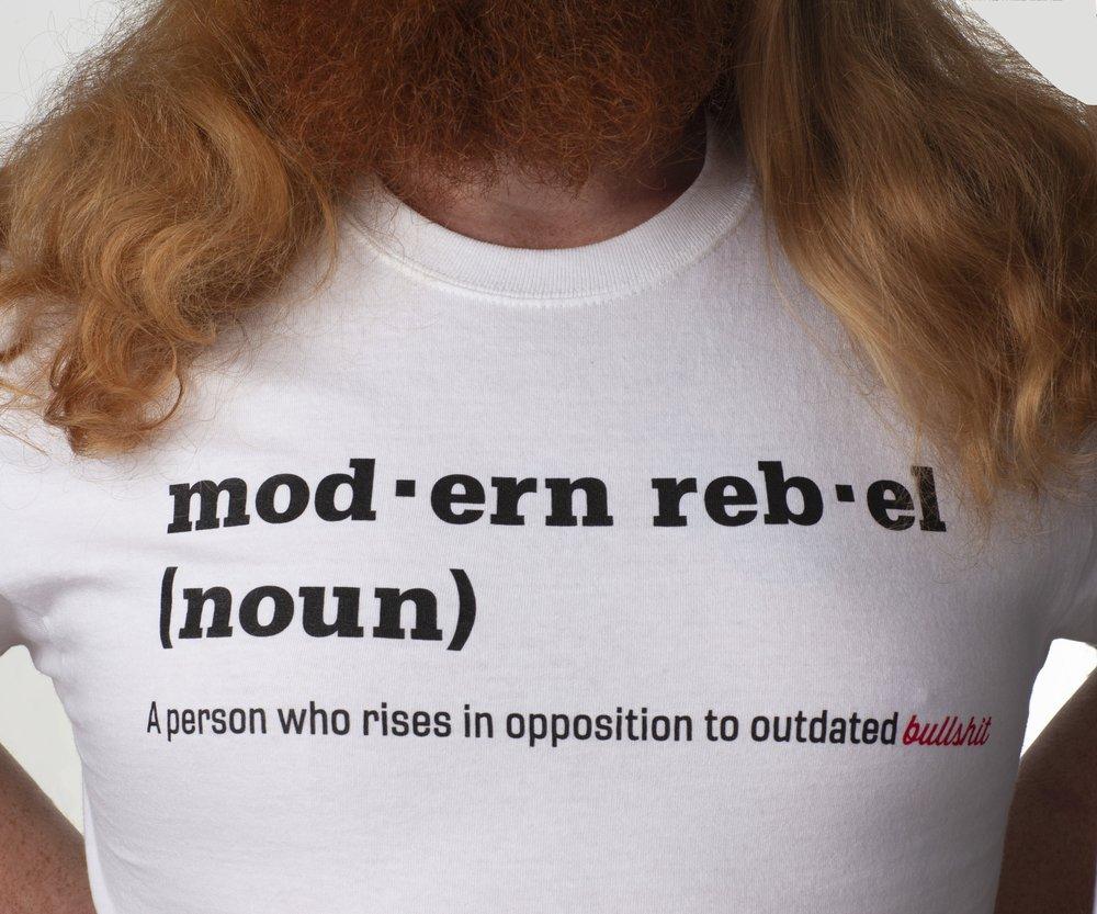 modern rebel definition shirt — modern rebel & co.