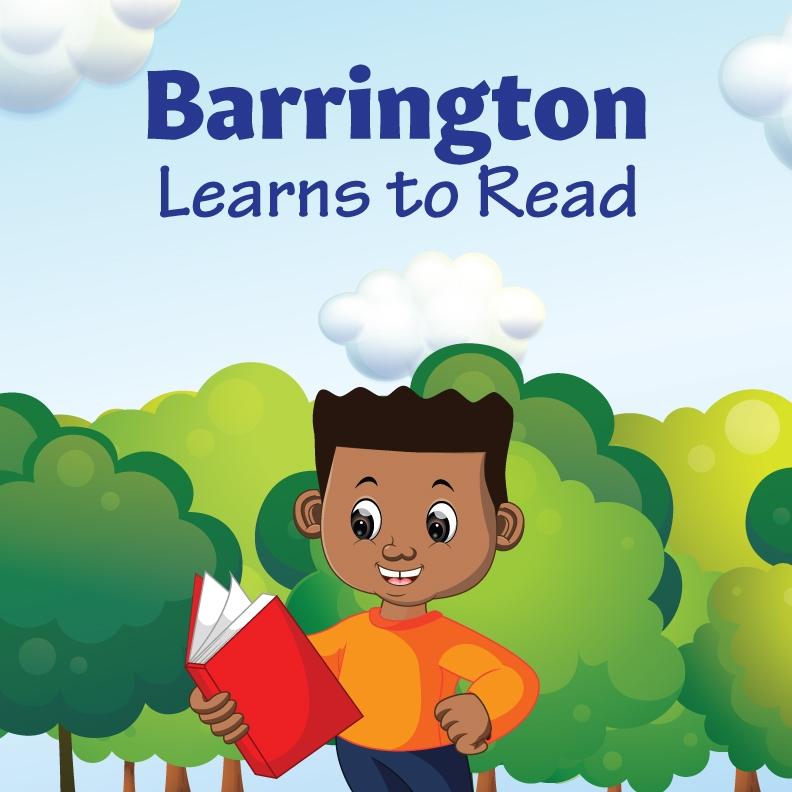 Barrington Learns to Read - Buy Now