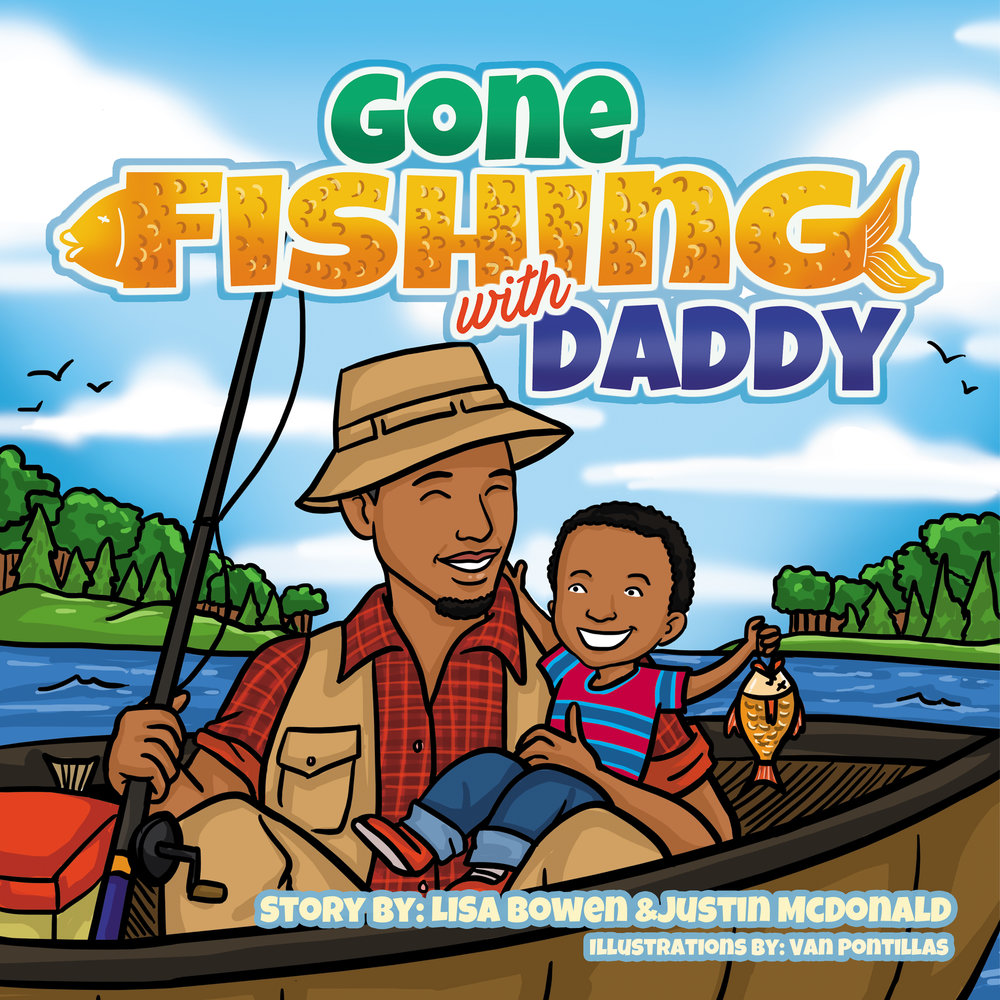 Gone Fishing with Daddy - Buy Now