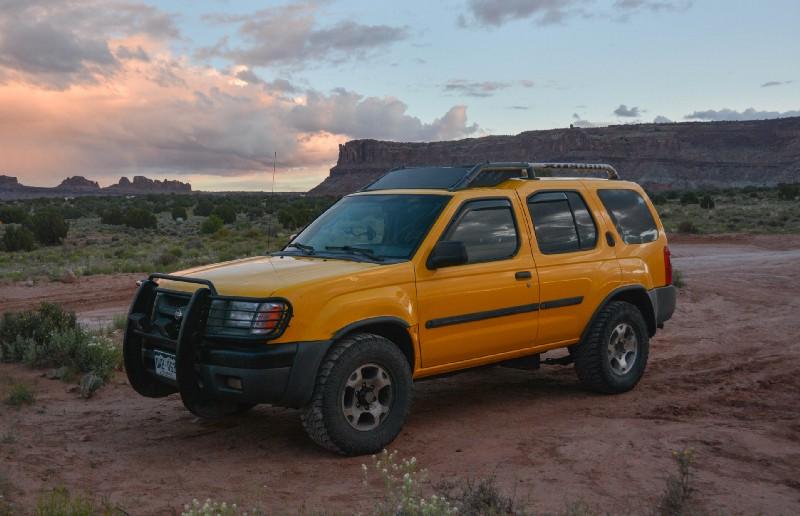 My 2001 Nissan Xterra, outside Moab, Utah