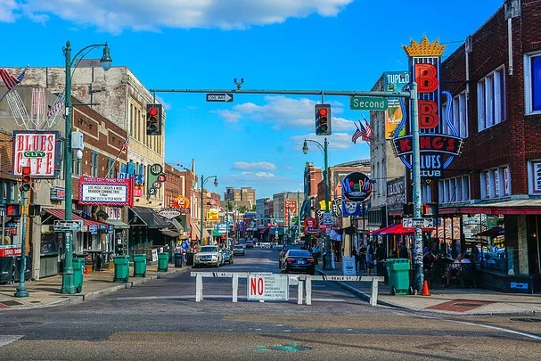 Downtown Memphis, TN