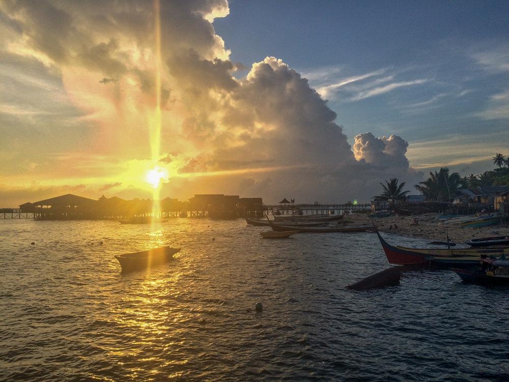 Mabul Island, Indonesia