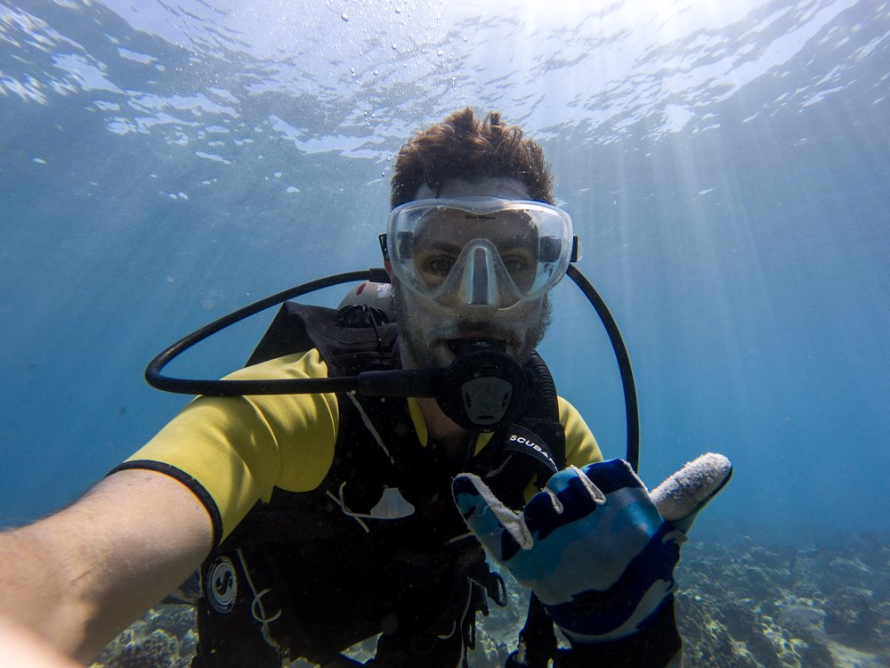 Getting paid to scuba dive is an indulgent way to make your money