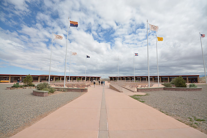 Four Corners Monument, the intersection of Utah, Colorado, New Mexico, and Arizona