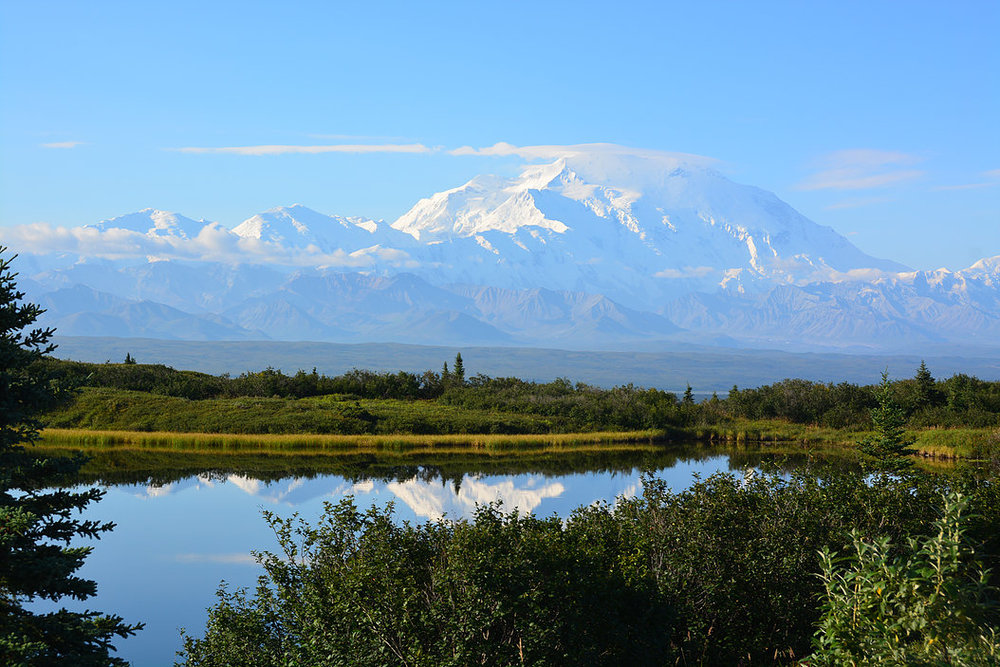 Denali, formerly known as Mt. McKinley