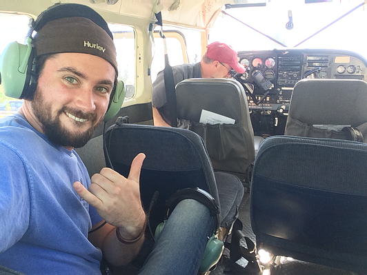Stoked to fly!