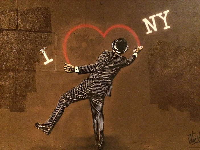Street art, seen on the streets of NYC