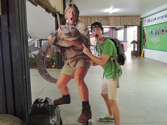 Hanging with Stve Irwin!