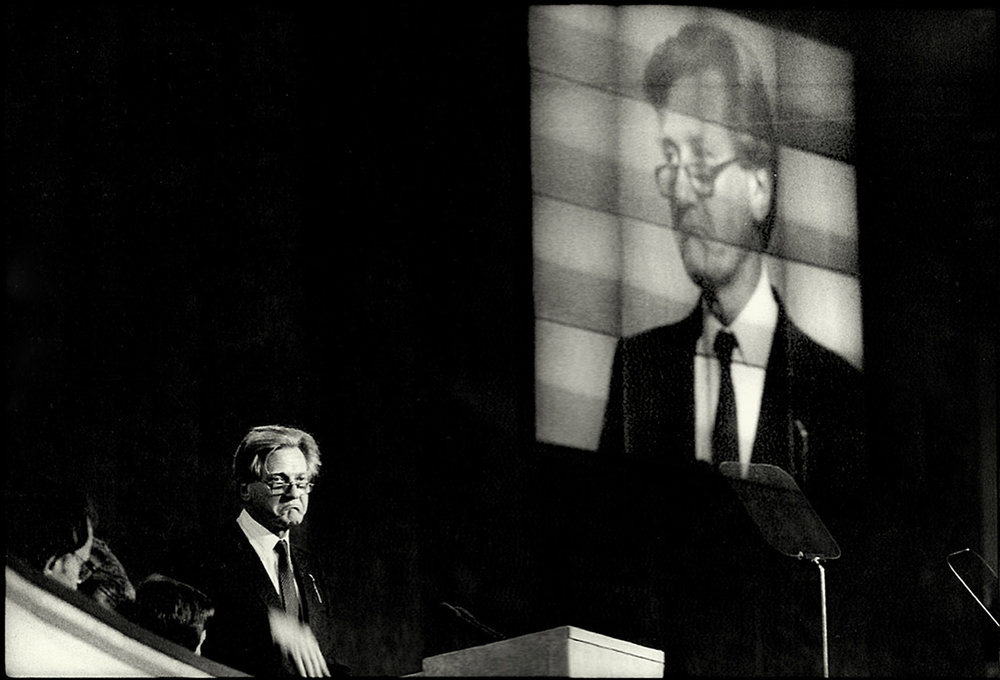 Michael Heseltine, Blackpool, 1992