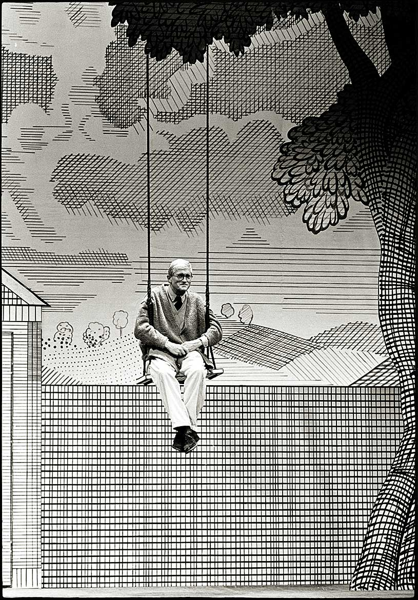 David Hockney, London, 1992