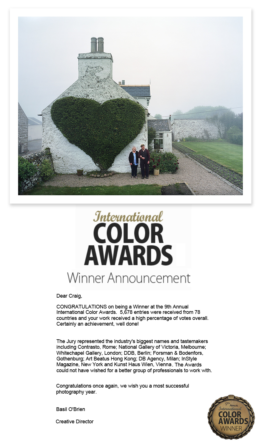 color awards copy