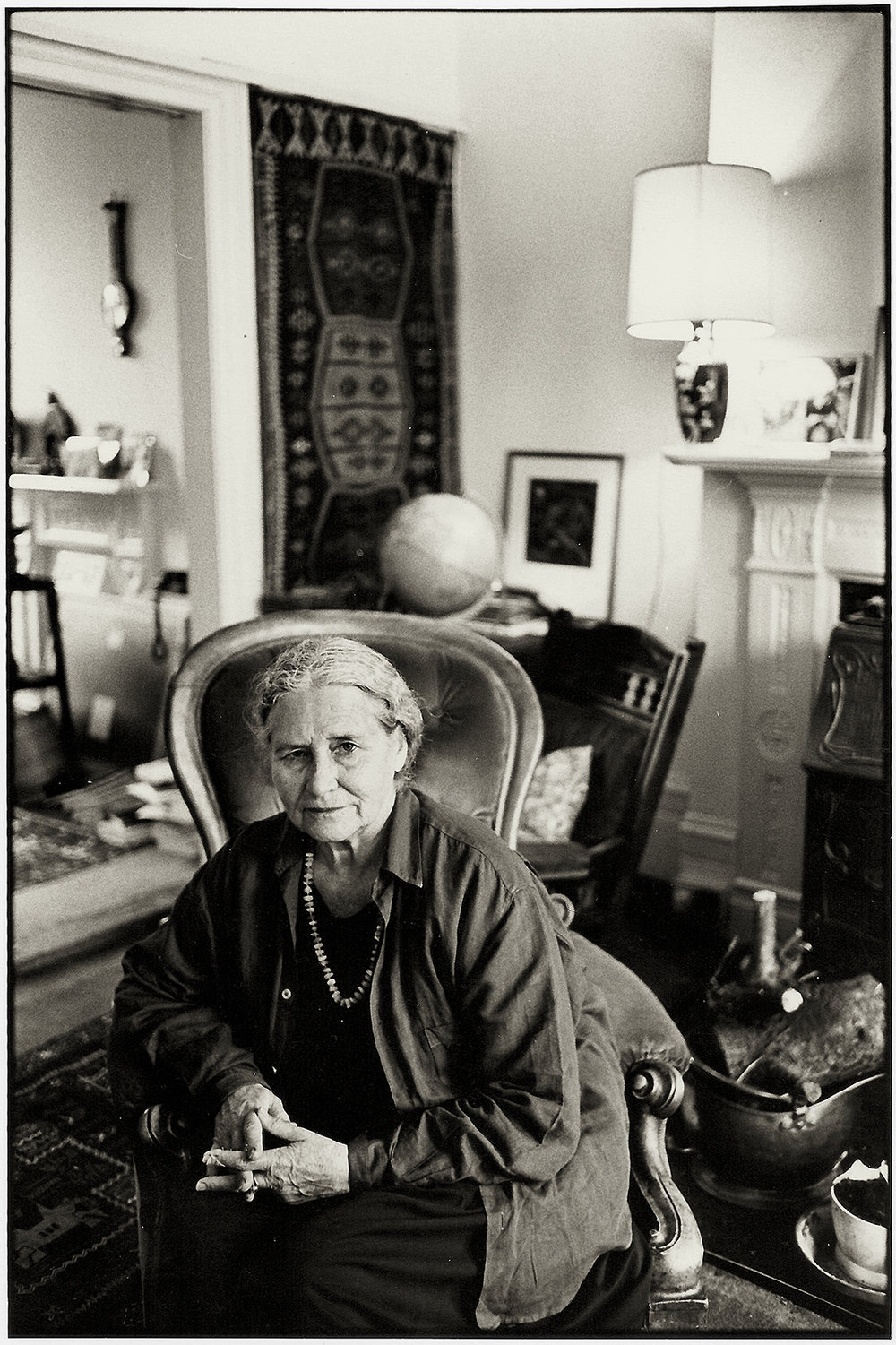 Doris Lessing, London, 1992