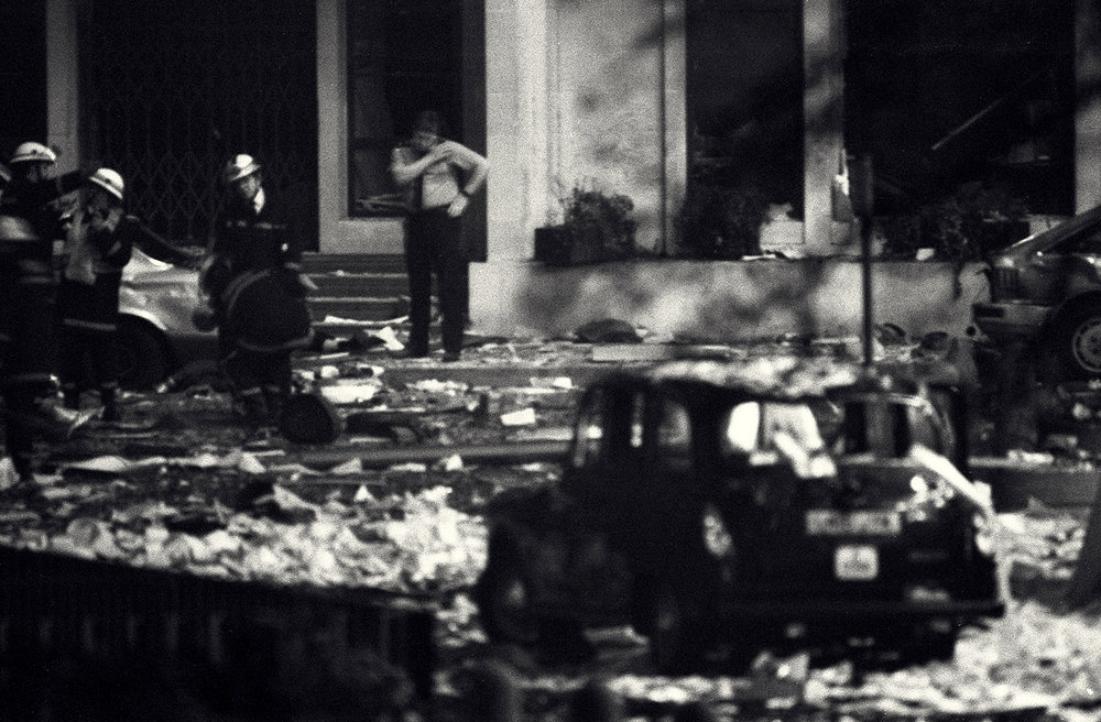 IRA bomb, Baltic Exchange, London, 1992