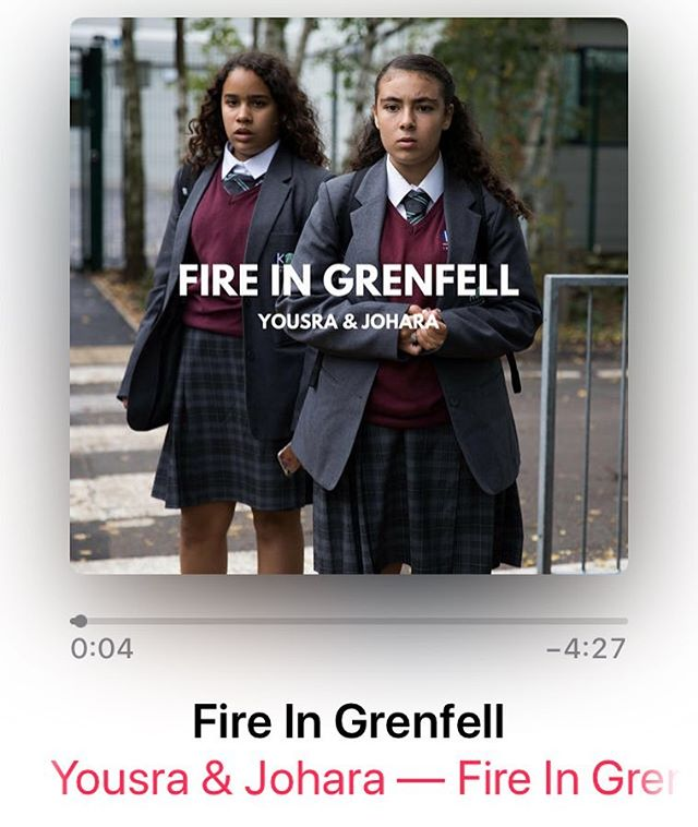 Support @yousra_johara by buying or streaming their song FIRE IN GRENFELL! Available on 28 music platforms & @vevo_uk. Spread the word and help them be heard. #fireingrenfell #grenfellvoices #grenfelltower @emelisande @professorgreen @stormzyofficial @cerys6music @lilyallen @ritaora @adele @mumfordandsons @trewrussellbrand @michaeldapaah_