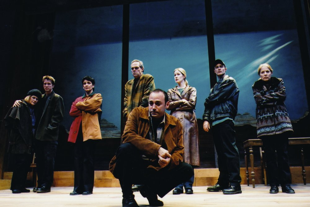 Ensemble,  The Laramie Project , Laguna Playhouse, Photo by Ed Krieger