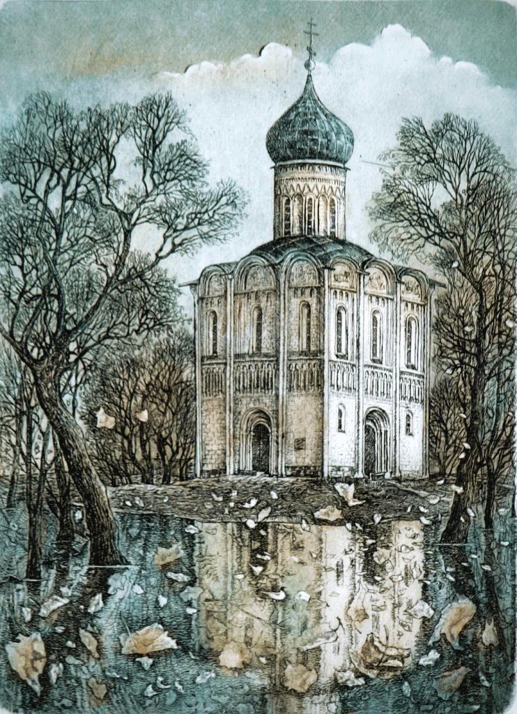 Church of Pokrova Na Nerili