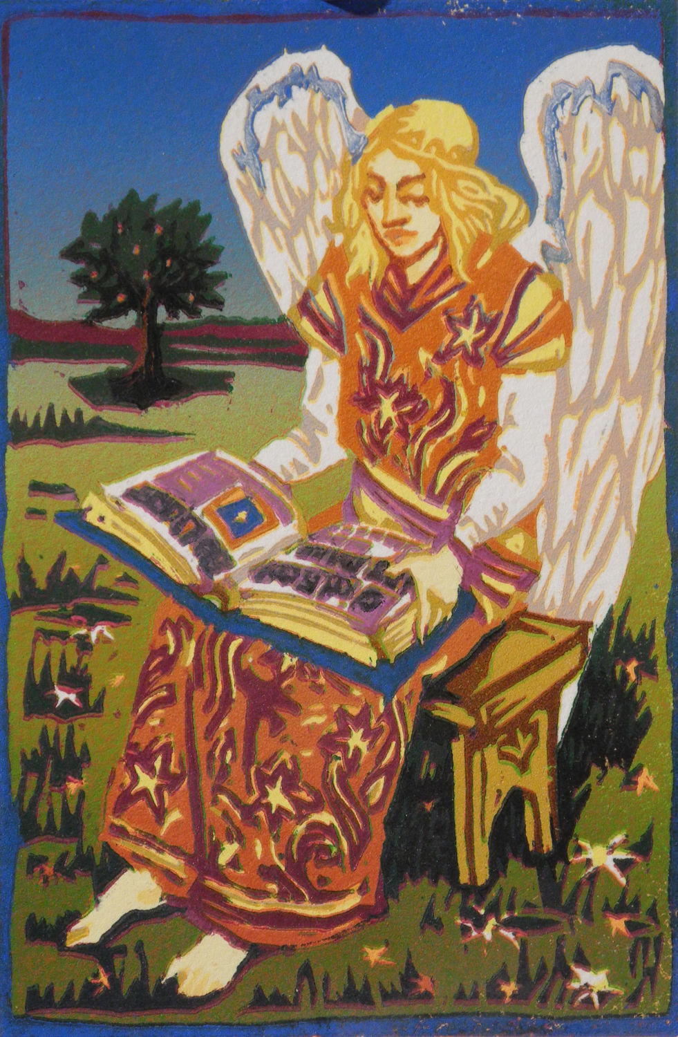 Angel with a Book