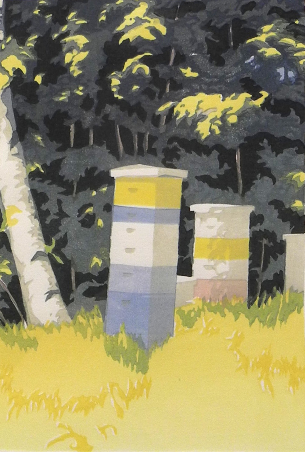 Bees by the Trees