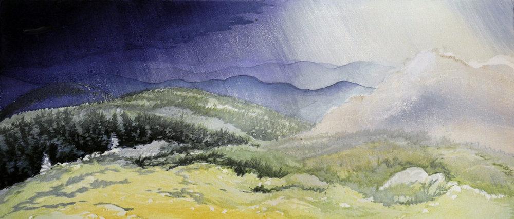 Storm on Mt. Moosilauke