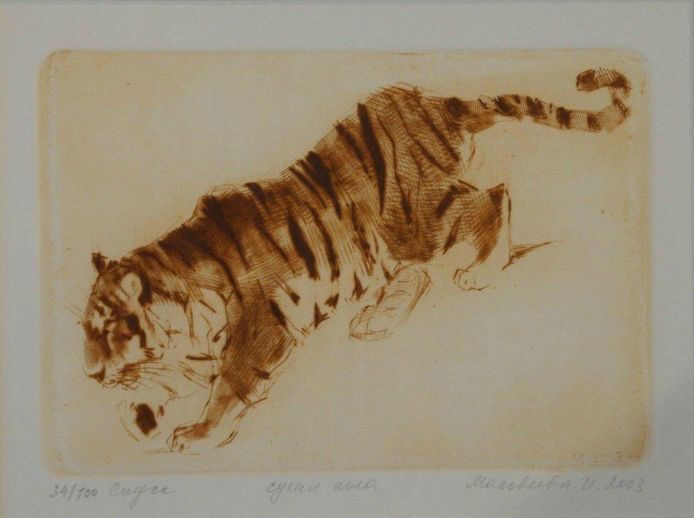 Tiger Descending
