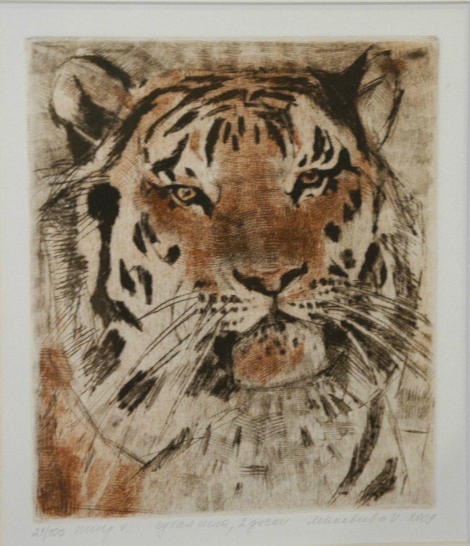 Tiger Portrait #1