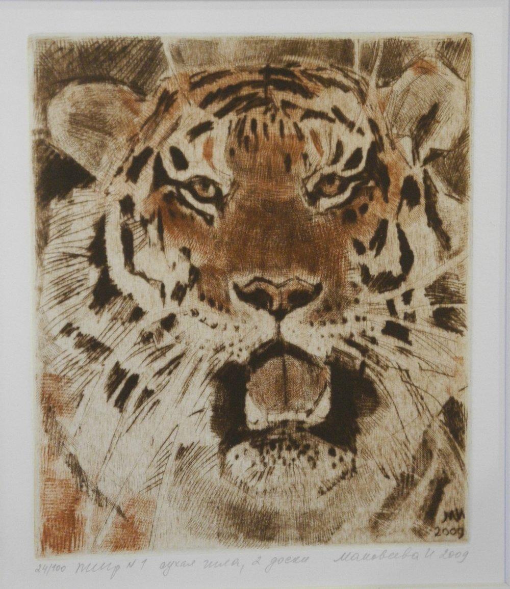 Tiger Portrait #2