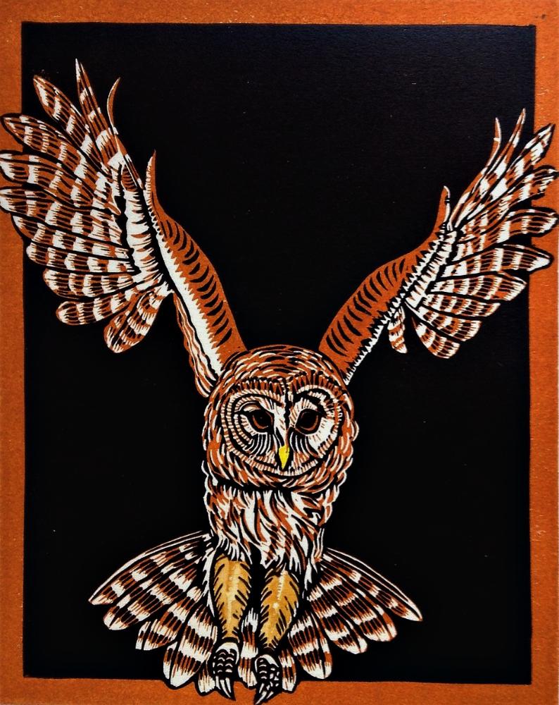 She Heard the Owl Call Her Name