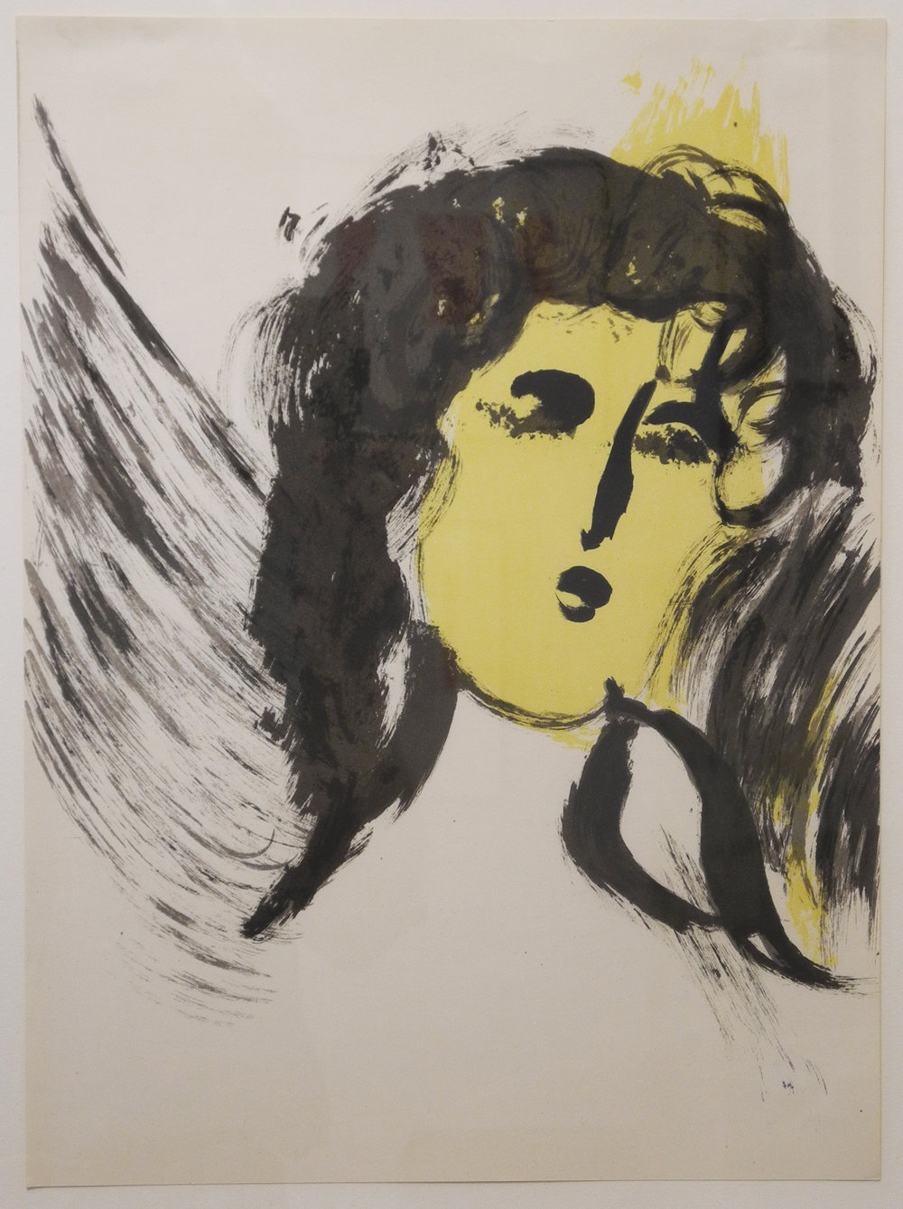 Marc Chagall, L'Ange (SOLD)