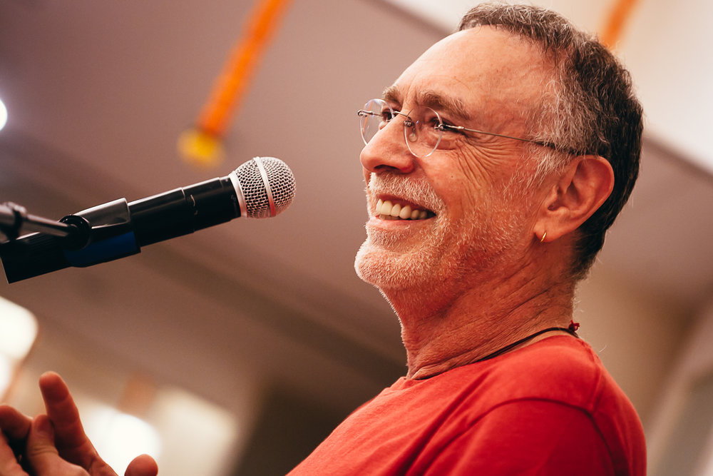 Krishna Das on saints, creating happiness, and saving your own ass… - By Iana Velez, Editor in Chief