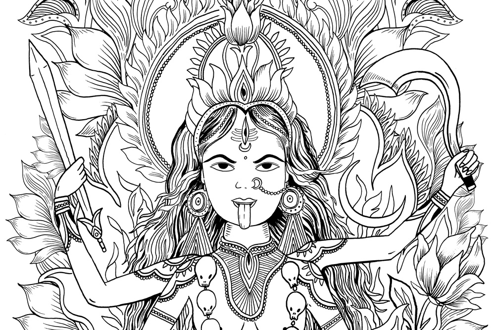 Ode to The Goddess Squad: The Dasa Mahavidyas - By Kelly Kamm