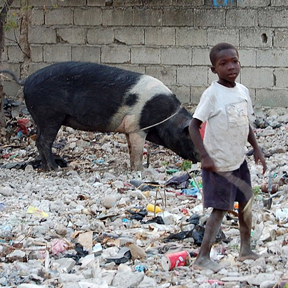 There are 3.6 million children in Haiti. Many are suffering from poor nutrition and medical care. -