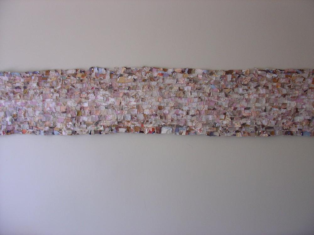Untitled, 40 x 254 cm