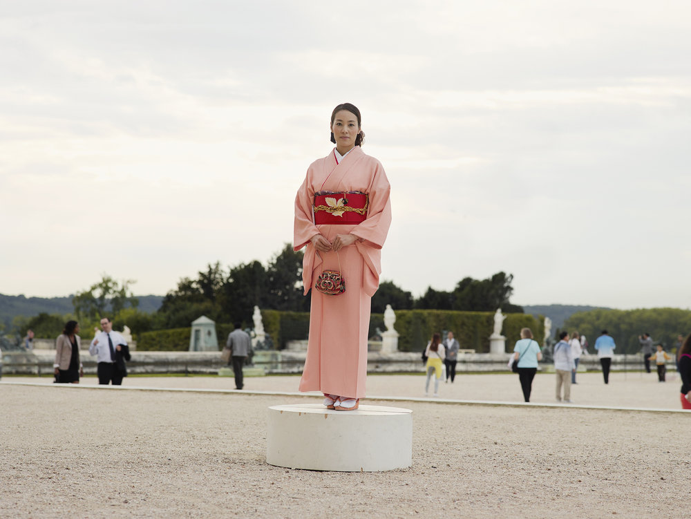 Versaille Touriste en Geisha.