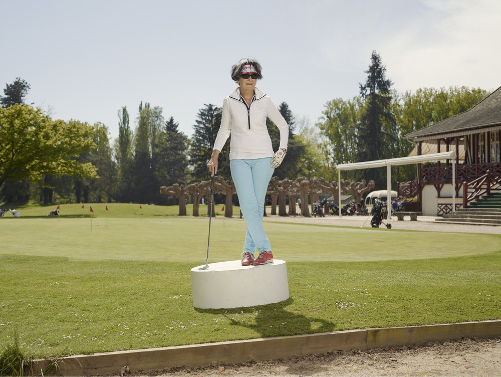 Vichy Le golf.