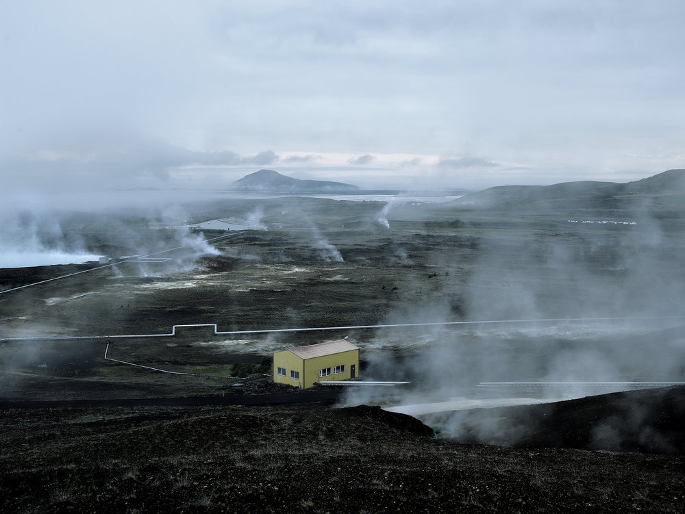 Geothermal plant 2, Iceland, 2007.