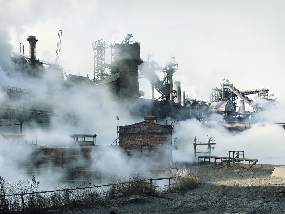Steel mill 1, Ukraine, 2007.